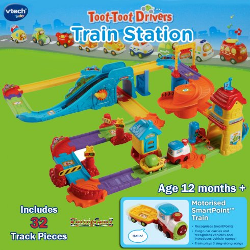 how to build toot toot train station