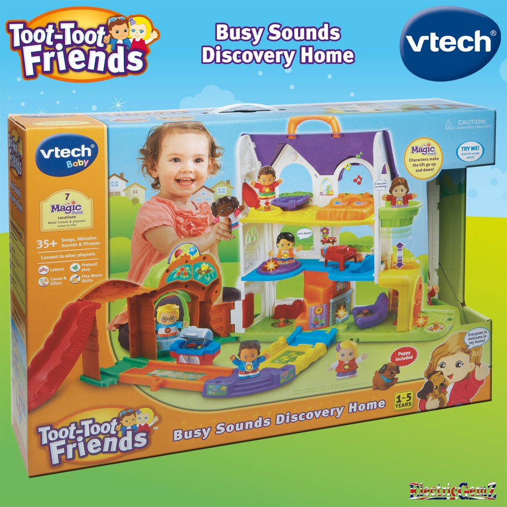 vTech Baby Toot-Toot Friends Busy Sounds Discovery Home ...