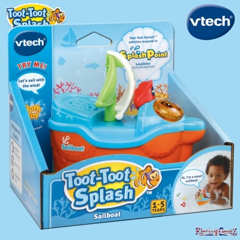 vTech Baby Toot-Toot Splash Sailboat