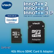 vTech InnoTab 4Gb Micro SDHC Memory Card and Adaptor