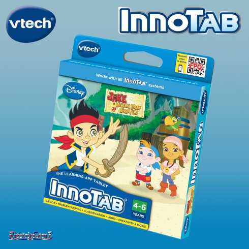 vTech InnoTab Disney Jake & the Never Land Pirates Cartridge