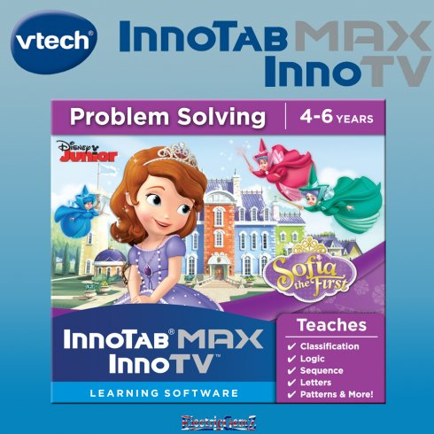 vTech InnoTab MAX InnoTV Sofia the First Learning Software