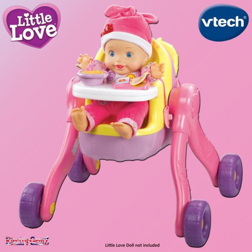 vTech Little Love Baby 3-in-1 Pushchair