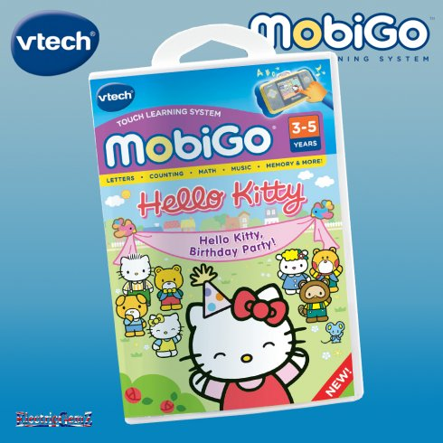 vTech Mobigo Hello Kitty Birthday Party Cartridge