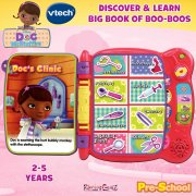 vTech Pre-School Doc McStuffins Discover & Learn Big Book of Boo Boos