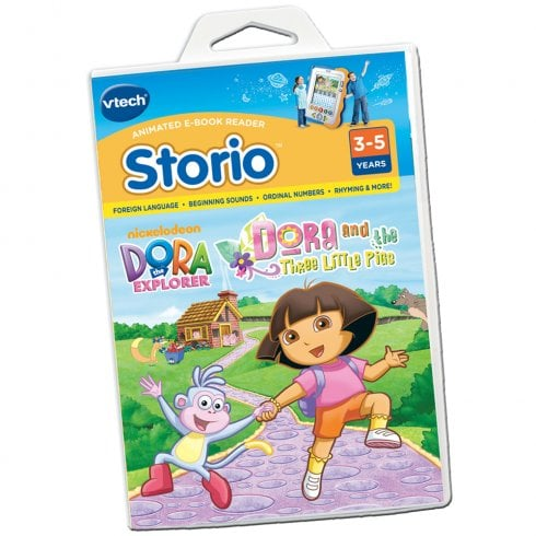 vTech Storio e-Book Dora the Explorer Cartridge