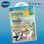vTech Storio e-Book Penguins of Madagascar Cartridge