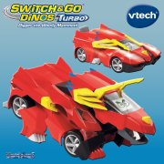 Switch & Go Dinos vTech Switch & Go Dinos Bronco the Triceratops