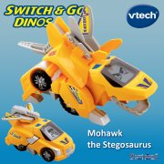 vTech Switch & Go Dinos Mohawk the Stegosaurus