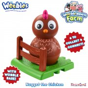 Weebledown Farm Weebles Figure - Nugget the Chicken
