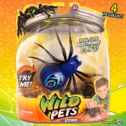 Wild Pets Electronic Spider - Blue Chiller