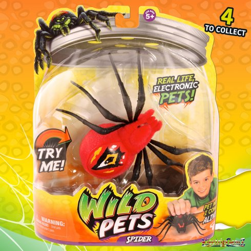 Wild Pets Electronic Spider - Red Eyegore