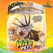 Wild Pets Electronic Spider - Silver Wolfgang