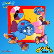 Woolly and Tig Pick Place & Play Wooden Jigsaw Puzzle
