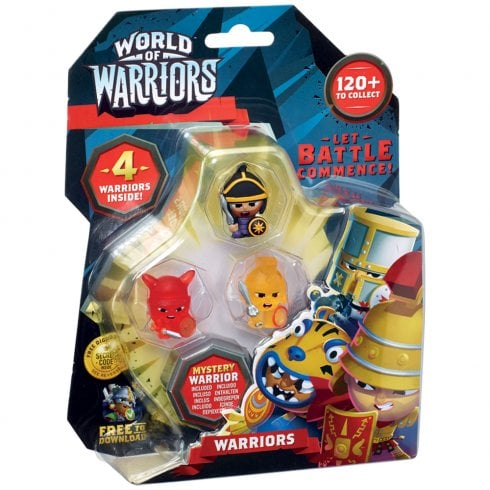 World of Warriors - Warriors 4-Pack
