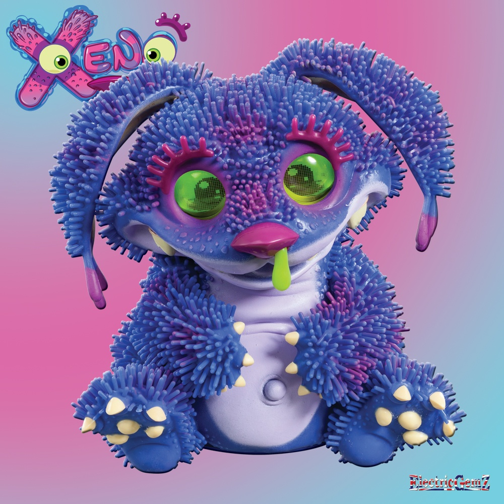 Xeno Interactive Baby Monster Pacific Blue