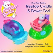 Zhu Zhu Babies Treetop Cradle and Power Pod