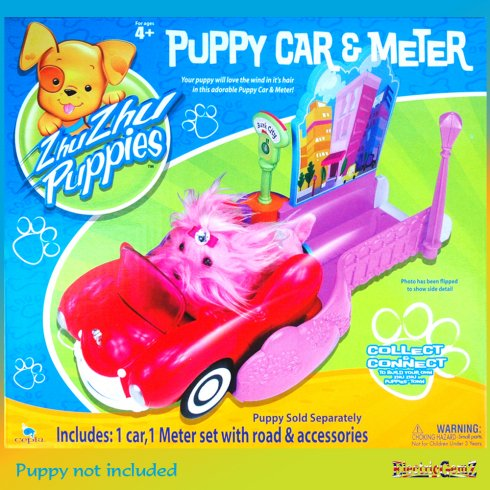 Zhu Zhu Puppies Puppy Car and Meter