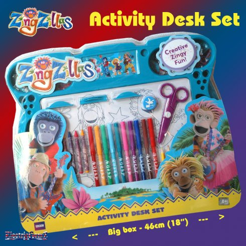ZingZillas Activity Desk Set